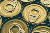 Aluminum cans — Stock Photo