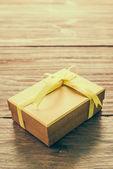 подарочная коробка дня рождения — Стоковое фото