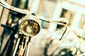 Old vintage bicycle — Stok fotoğraf
