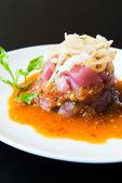 Spicy Tuna tartar — Fotografia Stock