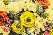 Vintage flower background — Stock Photo
