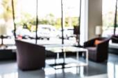 Abstract hotel lobby blur background — Stock Photo