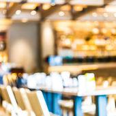 Blur restaurant background — Stock Photo