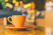 Hot Coffee cup — Stock Photo