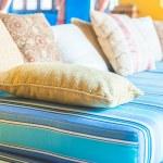 Comfortable Sofa pillows — Stock Photo #66105071