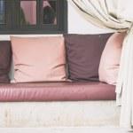 Comfortable Sofa pillows — Stock Photo #66105137