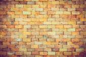Tuğla duvar arka plan özellikleri — Stok fotoğraf