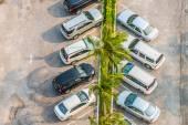 Car parking at hotel — Stockfoto