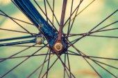 Vintage bicycle outdoor — Stockfoto
