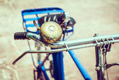 Vintage bicycle outdoor — Stock Photo