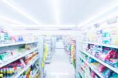 Abstract blur supermarket — Foto Stock