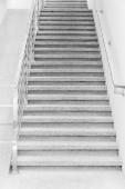 Concrete staircase inside building — Stock Photo