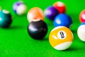 Colorful Billiards balls — ストック写真