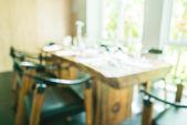 Abstract blur restaurant — Stock Photo