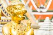玉佛寺的雕像 — 图库照片
