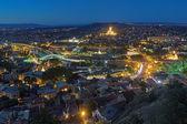 Evening view of Tbilisi, Georgia — Stock Photo