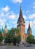Church of Sts. Olha and Elizabeth in Lviv, Ukraine — Stock Photo