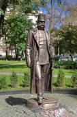 Monument of Emperor Franz Joseph I in Chernivtsi — Stock Photo