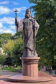 Monument of Metropolitan Eugene (Hakman) in Chernivtsi, Ukraine — Stock Photo