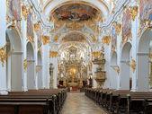 Interior of Old Chapel in Regensburg, Germany — Stock Photo