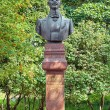 Monument of the Russian musician Vasily Andreyev in Bezhetsk, Russia — Stock Photo #56909083