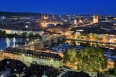 Evening view of Wurzburg, Germany — Stock Photo