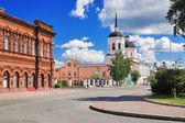 Epiphany Cathedral in Tomsk, Russia — Stock Photo