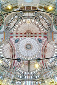 Dome painting of Fatih Mosque in Istanbul, Turkey — Stock Photo