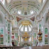 Interior of Mannheim Jesuit Church, Germany — Stock Photo