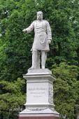 İmparator Wilhelm ı. Wiesbaden, Almanya'nın heykeli — Stok fotoğraf