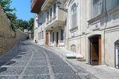 Kicik Qala Street and fortress wall of the Baku Old City — ストック写真