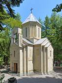 St. Nicholas Church in Borjomi, Georgia — Stock Photo