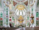 Interior of Mannheim Jesuit Church, Germany — Stock Photo