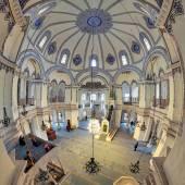 Interior of the Little Hagia Sophia in Istanbul, Turkey — Stock Photo