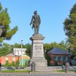 Постер, плакат: Peter the Great Monument in Taganrog Russia