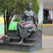 Постер, плакат: Monument to the famous Soviet actress Nonna Mordyukova in Yeysk Russia