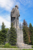 Lenin Monument in Dubna, Moscow Oblast, Russia — Stock Photo