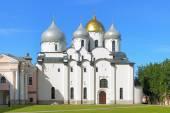 Cathedral of St. Sophia in Veliky Novgorod, Russia — Stock Photo