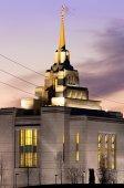 Mormon temple — Stock Photo