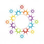 Colorful web design element — 图库矢量图片