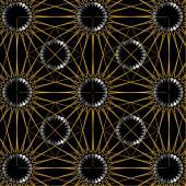 Dekorativer Hintergrund mit elegantem Muster — Stockvektor