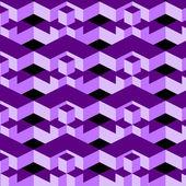 Geometrische patroon in op-art design — Stockvector