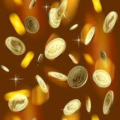 Money rain — Stock Vector
