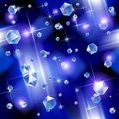 Diamond background — Stock Vector