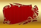 Navidad y tarjetas de felicitación-año nuevo — Vector de stock