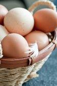 Ovos de perto — Fotografia Stock