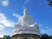 White huge buddha — Stock Photo
