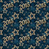 New year on the night stars seamless pattern 2 — Stock Photo