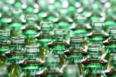Botellas verdes — Foto de Stock