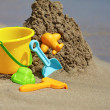 Childrens beach toys — Stock Photo #52146393